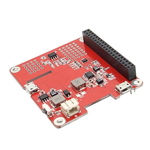 MYAMIA Geekworm Power Pack Pro V 1.1 Ups Hat Lithium Battery Expansion Board Für Raspberry Pi