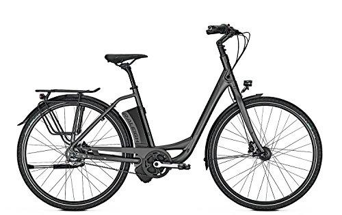 E-Bike Raleigh Leeds Plus 8G Wave Freilauf 14.5 Ah blackmatt 28' RIEMENANTRIEB - LEICHT, Rahmenhöhen:46, Farben:blackmatt