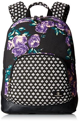 Volcom E6431501MDB - Mochilla Unisex, color Multicolor (Negro/Blanco), 30 x 43 x 15 cm, 19 Litro
