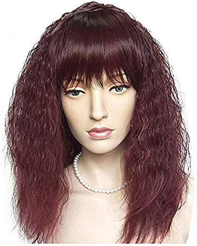 ATR Perücke Curly Style Bob Capless Perücke Rot Rotes Haar Frauen natürlichen Haaransatz Rote Perücke Lang