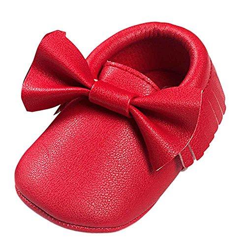 Turnschuhe Babyschuhe Neugeborenen Solekleinkind Mädchen Tanzschuhe Leder T-Strap -
