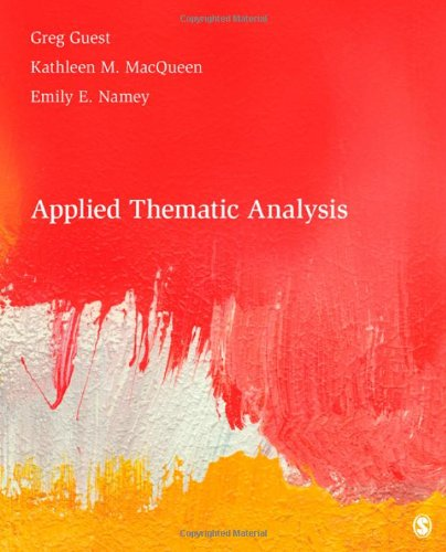 """thematic analysis for the book of Free thematic analysis papers, essays  analysis of the thematic paradigm - in the article """"the thematic paradigm"""" exerted from his book."""