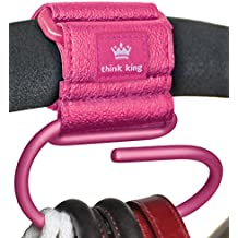 Think King Jumbo Swirly Hook, Pink by Think King