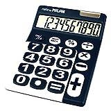 Blister calculadora 10 dígitos teclas grandes azul