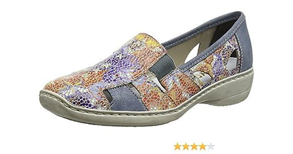 Mocassins Rieker 41385 et Chaussures 92 Sacs Femme xxfEg4