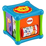 #9: Fisher Price Growing Baby Animal Activity Cube, Multi Color