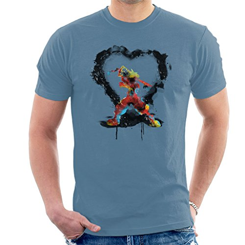 Cloud City 7 Kingdom Hearts Splash Men's T-Shirt (City Hearts)