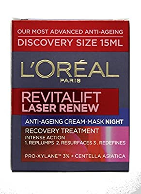 L'Oreal Revitalift Laser Renew Anti-Ageing Cream Night Mask 15ml