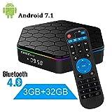T95Z Plus 3Gb RAM / 32Gb Rom-Android 7.1 Amlogic S912 intelligenter Fernsehkasten Octa-Kern 4K Entschließung Doppel-Band WI-Fi 2.4Ghz / 5Ghz Bluetooth 4,0, 64 Bits