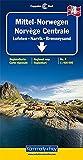 la carte routière : Norvège centrale n°4