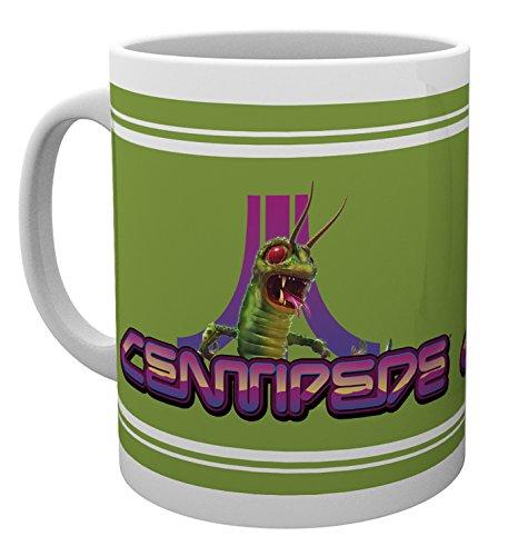 PQube Centipede Mug, Porcelain, Green