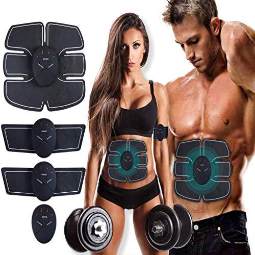 ATETION MASOMRUN Electrostimulateur Musculaire Entraînement Abdominal/Cuisse/Bras Muscle EMS Forme...