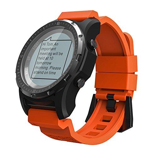 OOLIFENG GPS para Ciclismo Velocímetros, Reloj Running con GPS con...