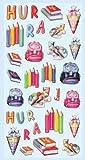 """Creapop Sticker Softysticker """"Schule II - Einschulung-Schulbeginn"""" Aufkleber 3451208"""