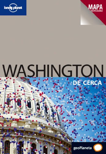 Portada del libro Washington De cerca 1 (Guías De cerca Lonely Planet)