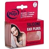 Hush 7 Pairs Plugz Silicone Earplugs - Pack of 7