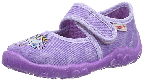 Superfit Bonny, chaussons d'intérieur fille Violet