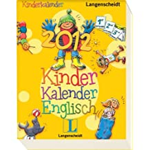 Kinderkalender Englisch 2012 - Kalender