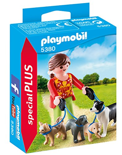 Playmobil Especiales Plus- Dog Walker Figura Accesorios