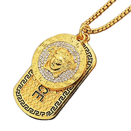 Mode/Medusa/Anhänger/Golden/Legierung/Anhänger/Halskette (1 Pc)
