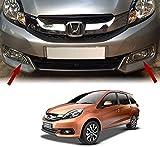 #1: Auto Pearl - Premium Quality Car Chrome Plated Fog Lamp Cover for - Honda Mobilio - Set of 2Pcs