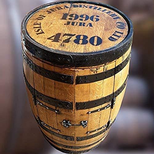 Recyceltem massivem Eiche echtem Isle of Jura Whisky Barrel Alfie Getränke Schrank | Bar Tisch