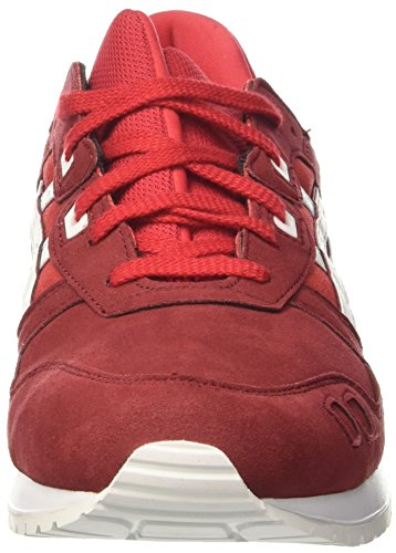 Asics Herren Gel-Lyte Iii Turnschuhe Rot (True Red/white)