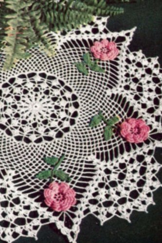 Journal: Irish Rose Crochet Doily (Rose Doily)