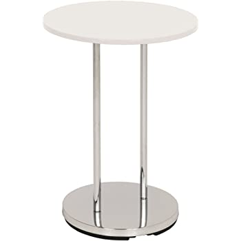 7b8eb4af6b8058 Relaxdays Table dappoint ronde en cuivre HxlxP  46 x 42 x 42 cm table  console