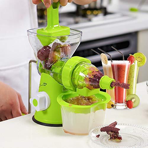 Manuelle Handentsafter Multifunktionspresse für den Haushalt Frische Obst Extraktor Küche Werkzeug Obst Gemüse Manuelle Saftpresse Saugfuß