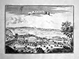 Bouillon Bouillon / Belgien Belgique Belgium - gravure estampe Kupferstich Beaulieu engraving