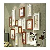 DONG 15 Große Fotos Rahmen Wand, Soild Holz Kombination Sofa Hintergrund Dekorative Malerei Einschließlich Zubehör 60,6 * 30,7 Zoll
