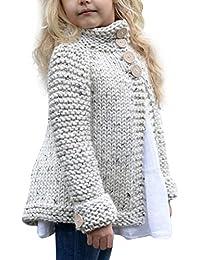 Cárdigan Suéter de Punto para Bebés Niña Niño Chaquetas y Abrigos Ropa de Tejer Jerséis de Invierno Gusspower