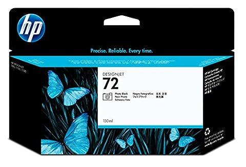 HP 72 Cartouche d'encre d'origine Noir Vivera 130 ml