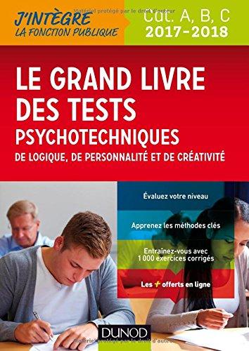 le-grand-livre-2017-2018-des-tests-psychotechniques-de-logique-de-personnalite-et-de-creativite