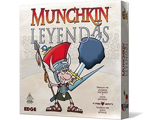 Edge Entertainment- Munchkin Leyendas - Español, Color (EESJML01)