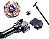 Rapidity® Kampfkreisel StarterSet Mega Metal Fusion für Beyblade Masters 4D (Lightning L-Drago)