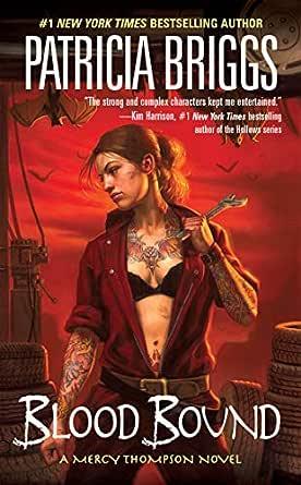 Blood Bound (Mercy Thompson, Book 2) (English Edition) eBook ...