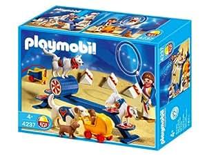 Playmobil - 4237 - Educatrice  Et  Chiens
