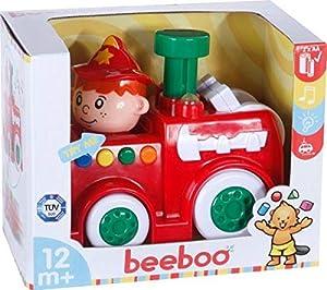 VEDES Großhandel GmbH - Ware beeboo Baby Press & Go Bomberos con luz y Sonido