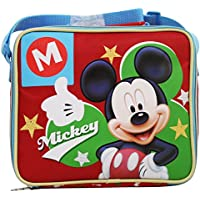 Disney Mickey Topolino Cestino Porta Pranzo Merenda Asilo Elementari Gite - Mouse Pranzo