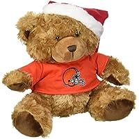 FOCO Cleveland Browns Bär mit Nikolausmütze