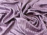 Satin Streifen gemustert Acetat Futter Kleid Stoff