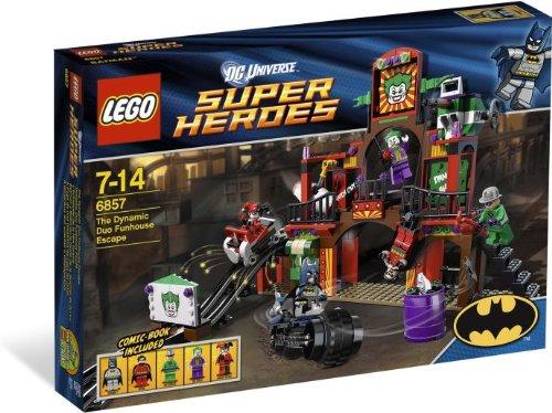 LEGO 6857 Super Heroes DC Universe - Huida guarida