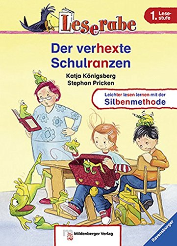 Leserabe - Der verhexte Schulranzen: Band 2, Lesestufe 1