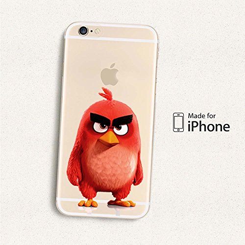 Angry Birds Coque souple en TPU pour Apple iPhone 5/5S/5 C/5Se... STELLA rouge