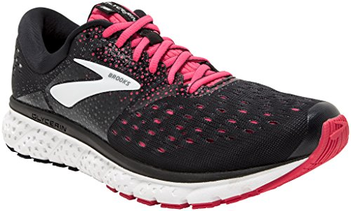Brooks Glycerin 16, Scarpe da Running Donna, Multicolore (Black/Pink/Grey 070), 42 EU