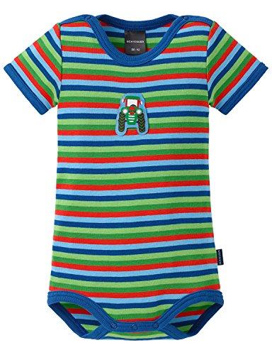 Schiesser Baby - Jungen Body Baby 1/2 Mehrfarbig