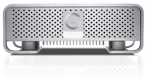 G-TECH G-DRIVE G6 4TB Silver  USB3.0 eSATA Firewire 800 Retail GDREG6EB40001BDB