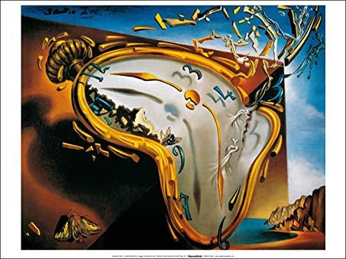 1art1 Salvador Dali - Die Weichen Uhren Poster Kunstdruck 70 x 50 cm